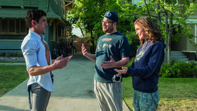 Zac Efron, Seth Rogen und Rose Byrne in 'Bad Neighbors'.