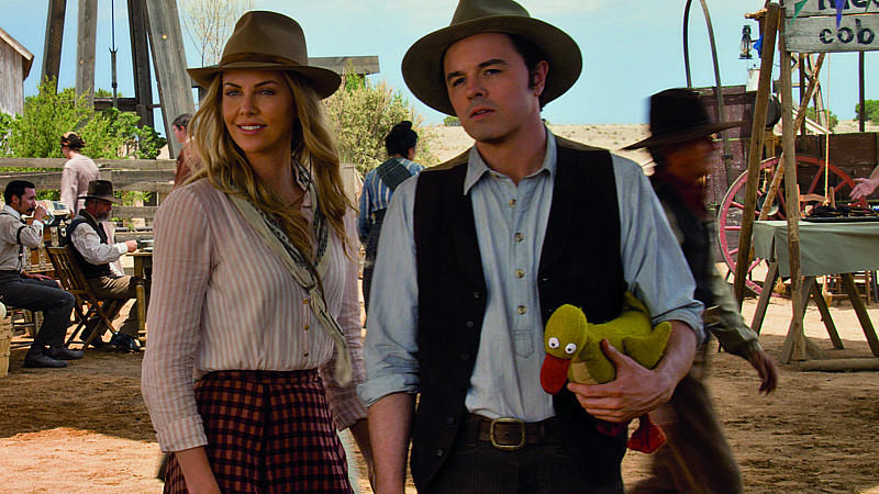 Anna (Charlize Theron) und Albert (Seth MacFarlane) in 'A Million Ways to Die in the West'.