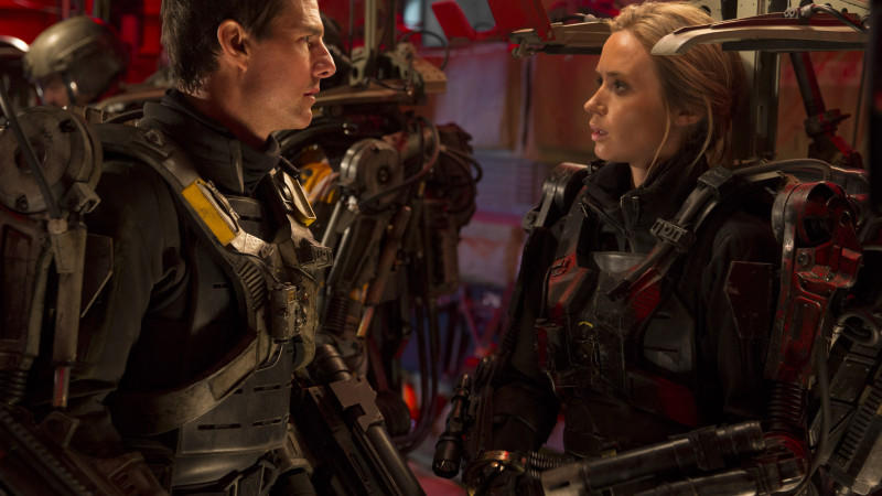 In 'Edge Of Tomorrow' muss Tom Cruise dran glauben