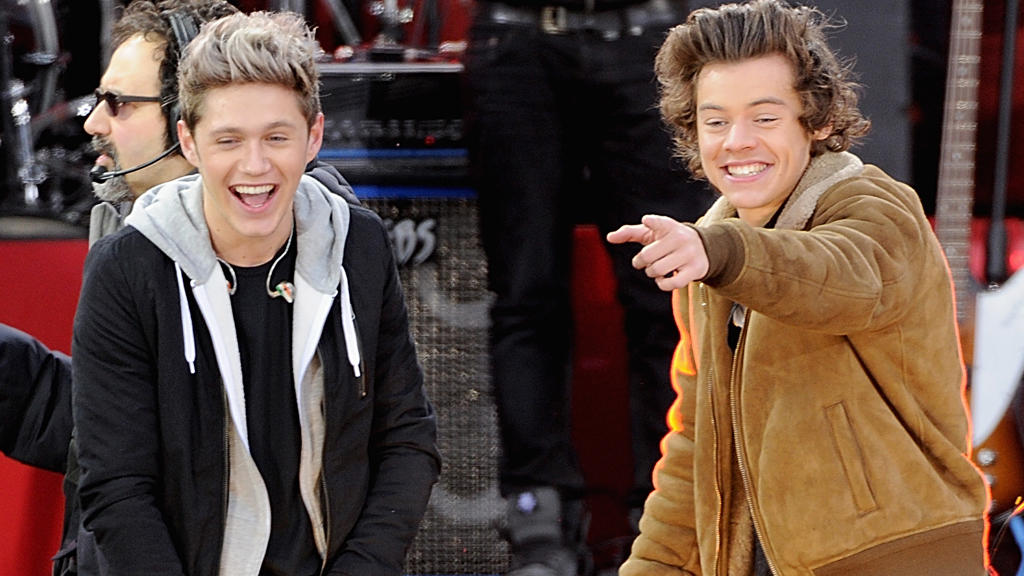 Niall Horan und Harry Styles