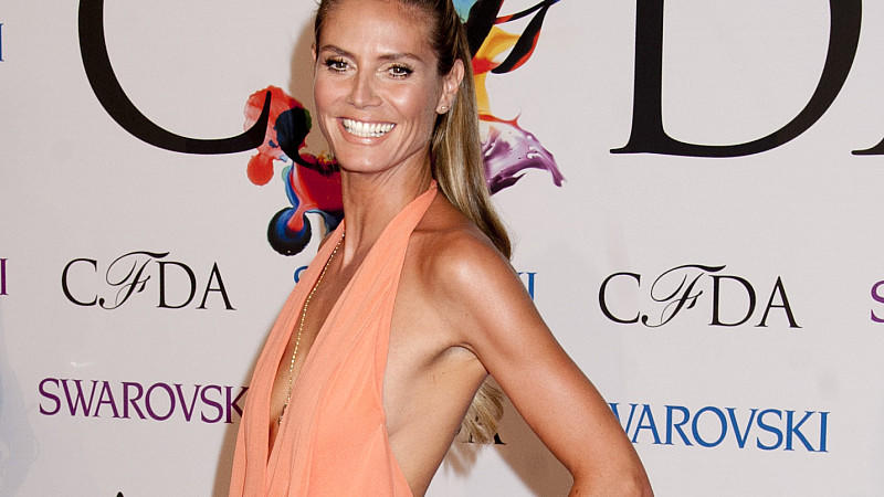 Heidi Klum bei den CFDA Fashion Awards