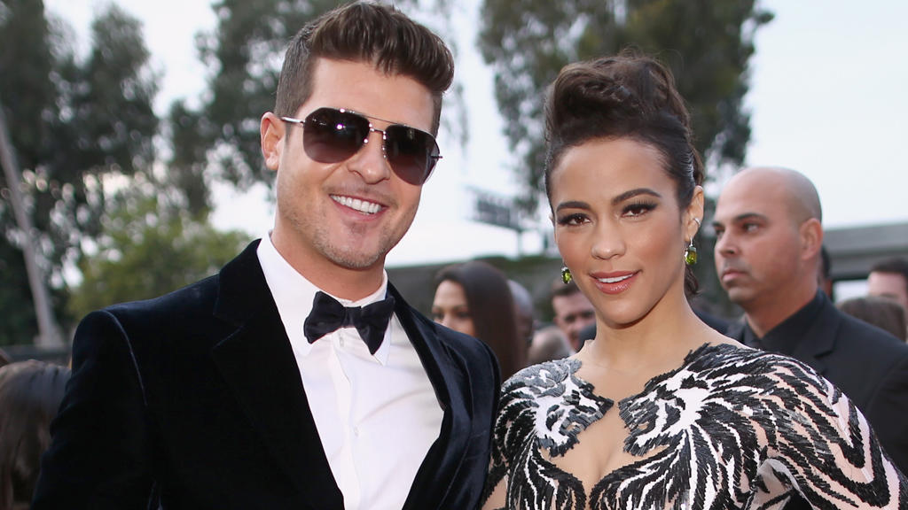 Robin Thicke und Paula Patton