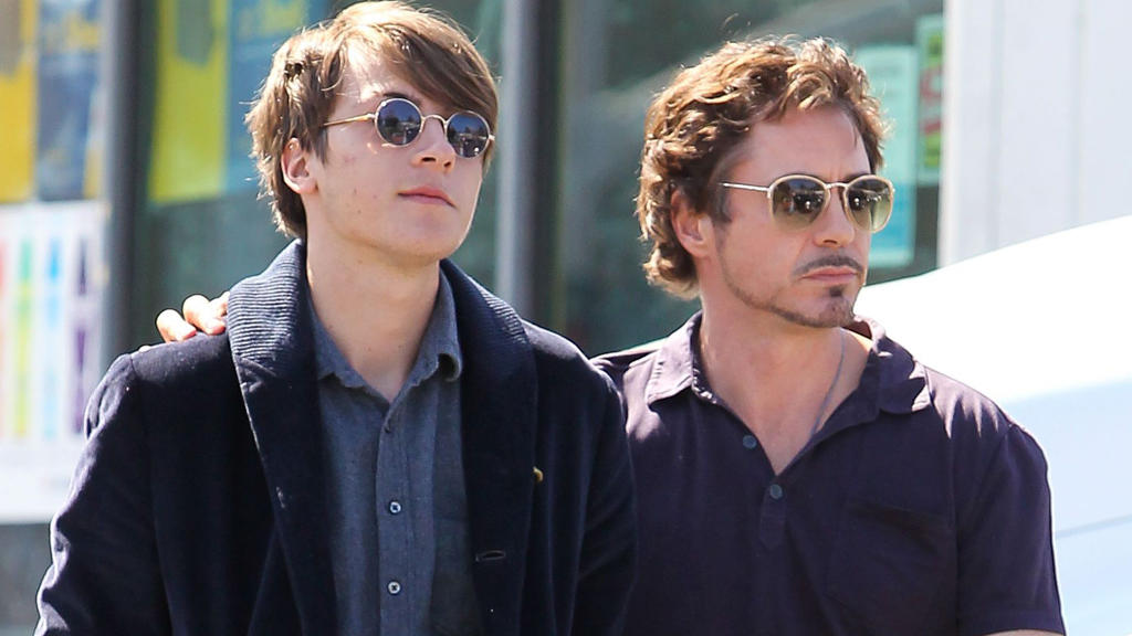 Indio Downey und Robert Downey Jr