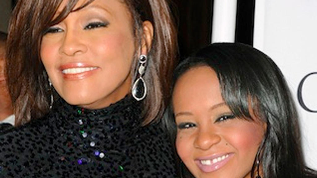 Whitney Houston und Bobbi Kristina Brown
