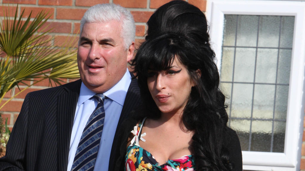 Mitch Winehouse und Amy Winehouse
