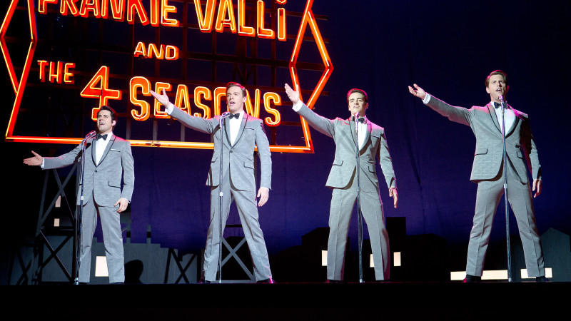 'Jersey Boys': Frankie Valli, Bob Gaudio, Tommy DeVito und Nick Massi sind 'The Four Seasons'.