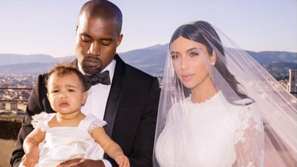 Kanye West, North West, Kim Kardashian