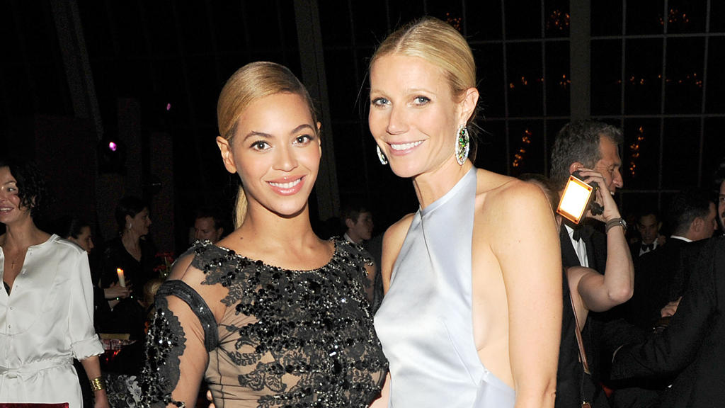 Beyoncé Knowles und Gwyneth Paltrow