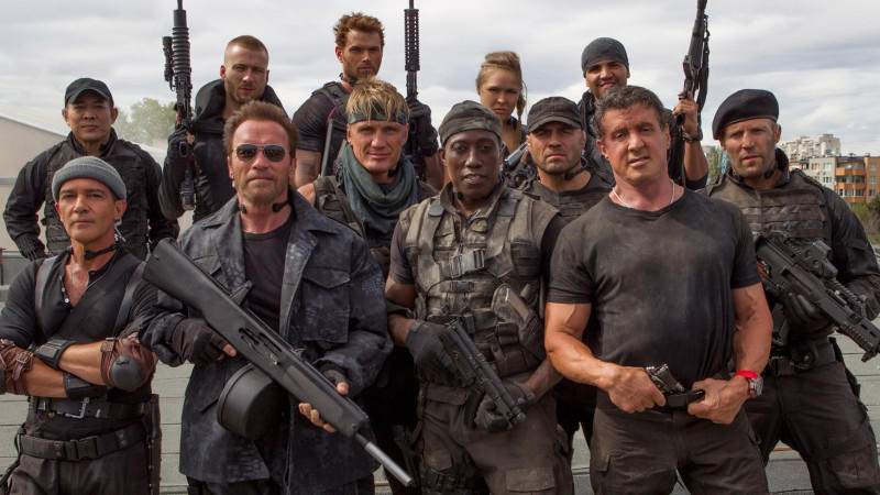 'The Expendables 3': Romantische Momente am Set