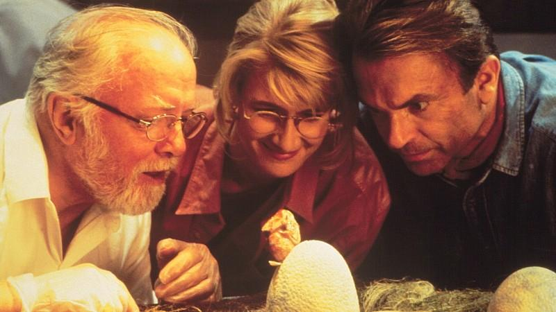 Richard Attenborough spielte in 'Jurassic Park' mit.