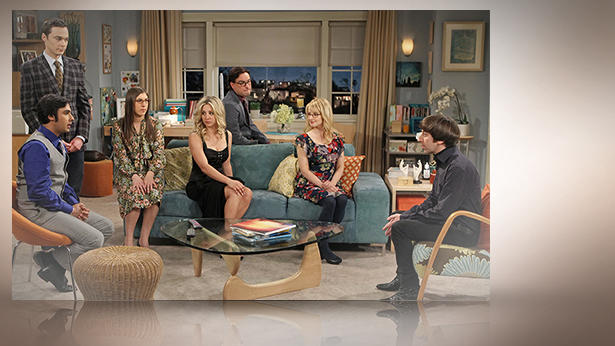 Der Cast der Erfolgs-Serie 'The Big Bang Theory'.
