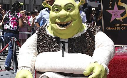 Shrek in Hollywood verhaftet