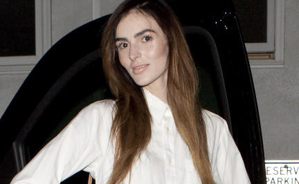 Ali Lohan immer tiefer im Magersumpf