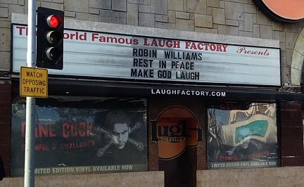 """Make God Laugh"" - So gedenkt Hollywood Robin Williams"