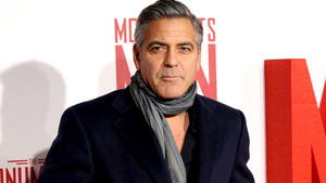 George Clooney begeistert 'Downton'-Cast