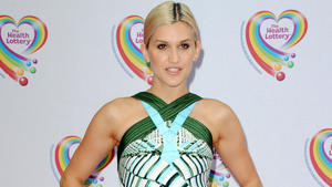 Ashley Roberts: Sprachloser Star