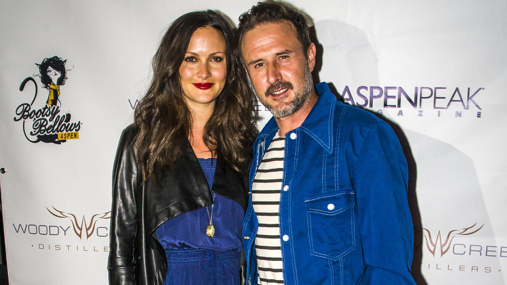 Christina McLarty und David Arquette