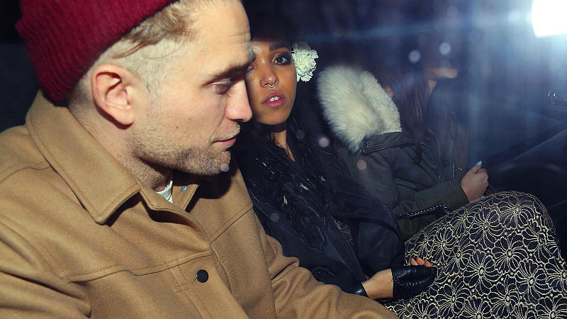 Robert Pattinson und FKA Twigs in New York