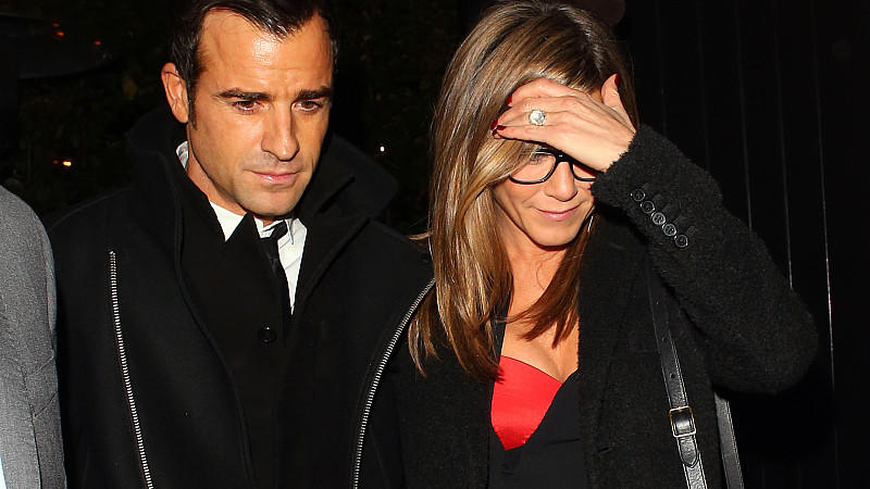 Justin Theroux und Jennifer Aniston bei der Premiere von 'Kill the Boss 2'