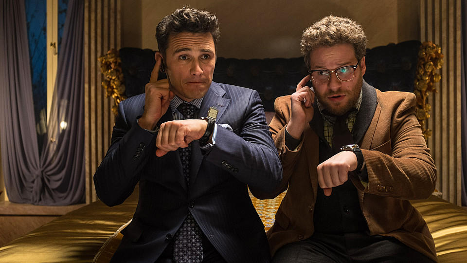 Seth Rogen und James Franco in 'The Interview'.
