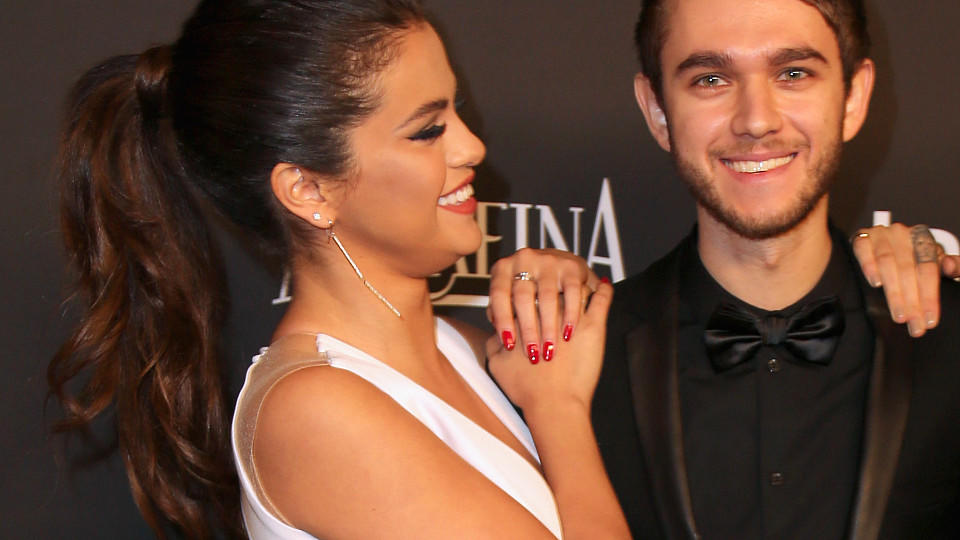 Selena Gomez und DJ Zedd bei der Vanity Fair After-Show-Party der Golden Globes