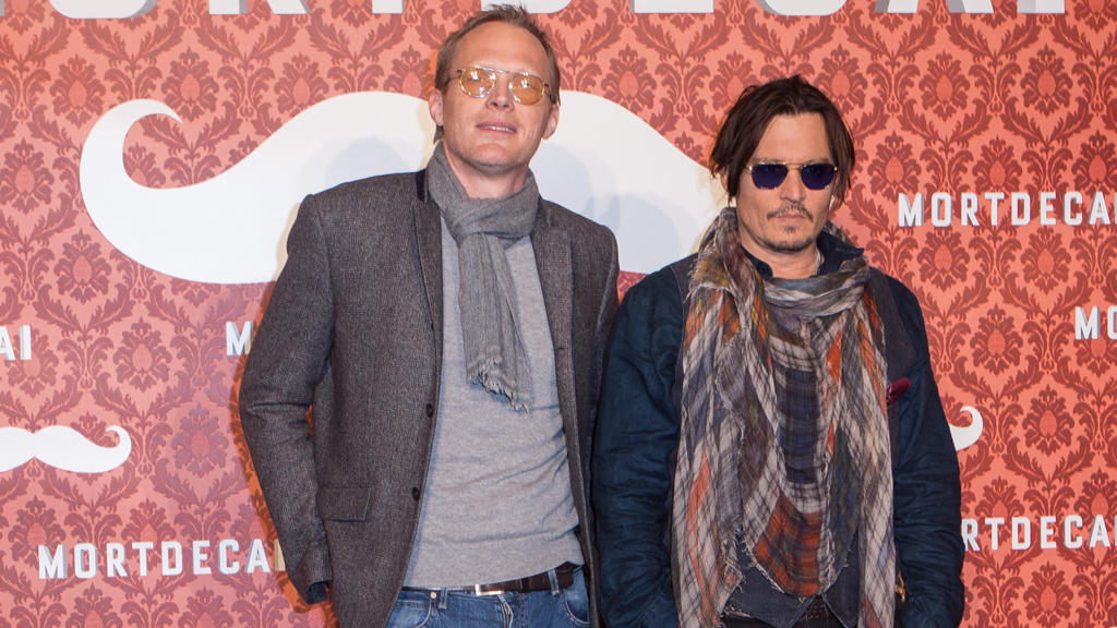 Paul Bettany und Johnny Depp