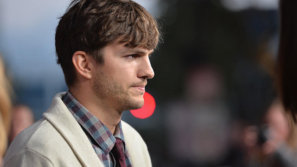 Ashton Kutcher im August 2013.