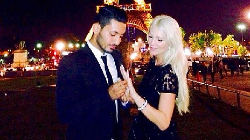 Sarah Kern und Alieu in Paris