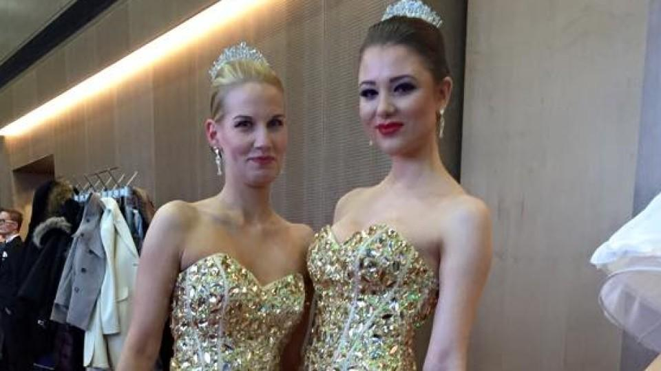 Joelina Drews auf dem SemperOpernball
