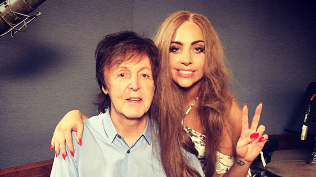 Paul McCartney und Lady Gaga