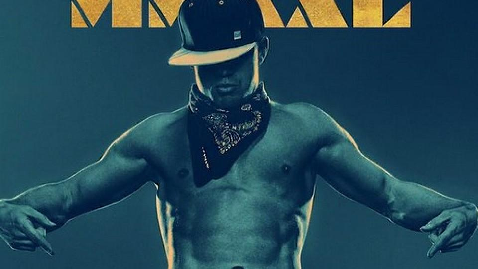 Channing Tatum auf dem Filmplakat zu 'Magic Mike XXL'