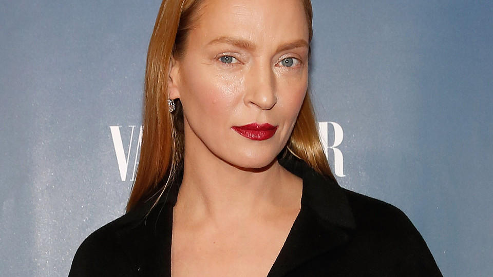 Uma Thurman bei der Premiere von 'The Slap' in New York