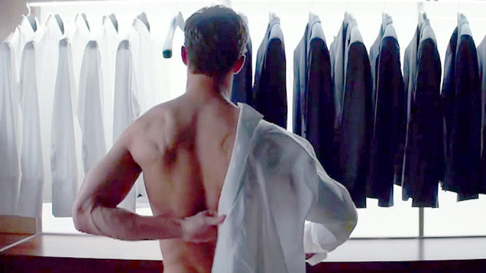 Mr. Grey macht sich in 'Fifty Shades of Grey' bereit