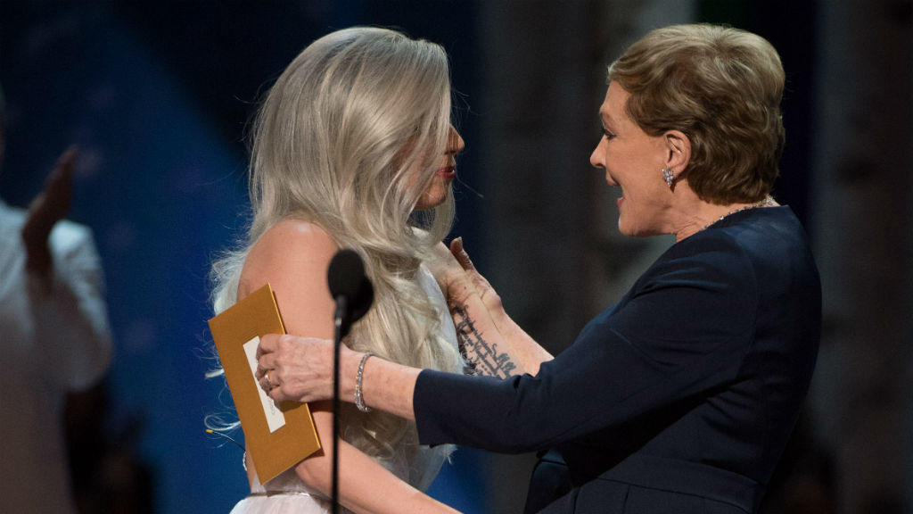 Lady Gaga und Julie Andrews