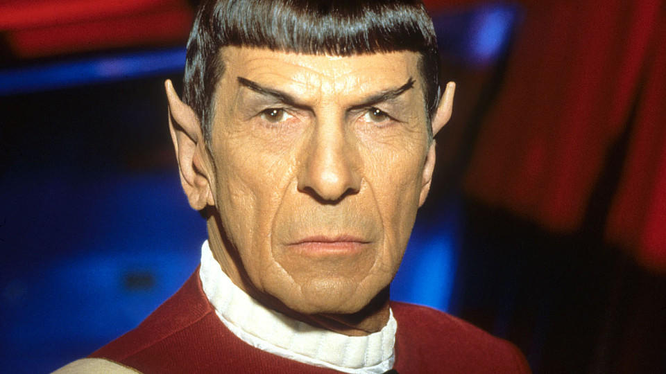 Leonard Nimoy als Mr. Spock in 'Star Trek'