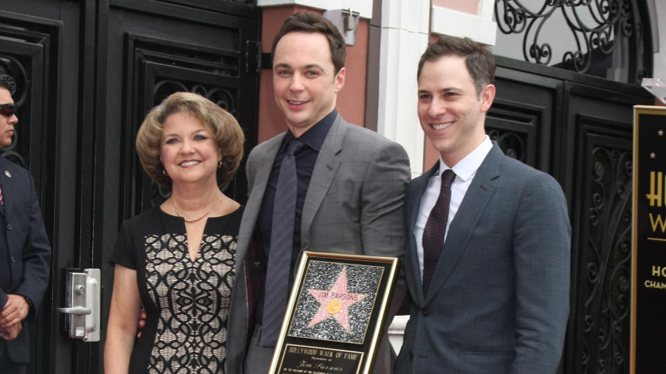 Jim Parsons wird am Walk of Fame verewigt