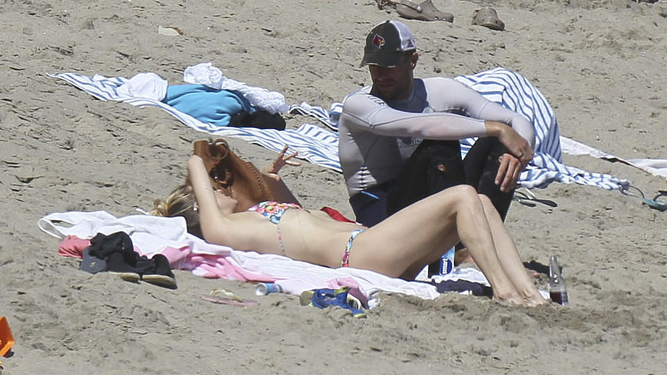 Chris Martin und Kate Hudson am Strand in Malibu