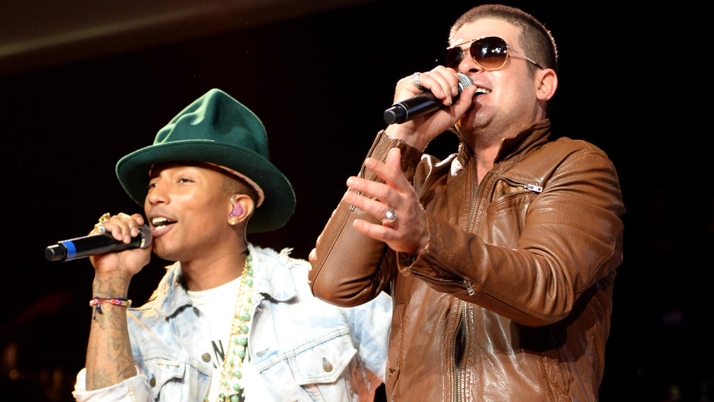 Pharrell Williams und Robin Thicke