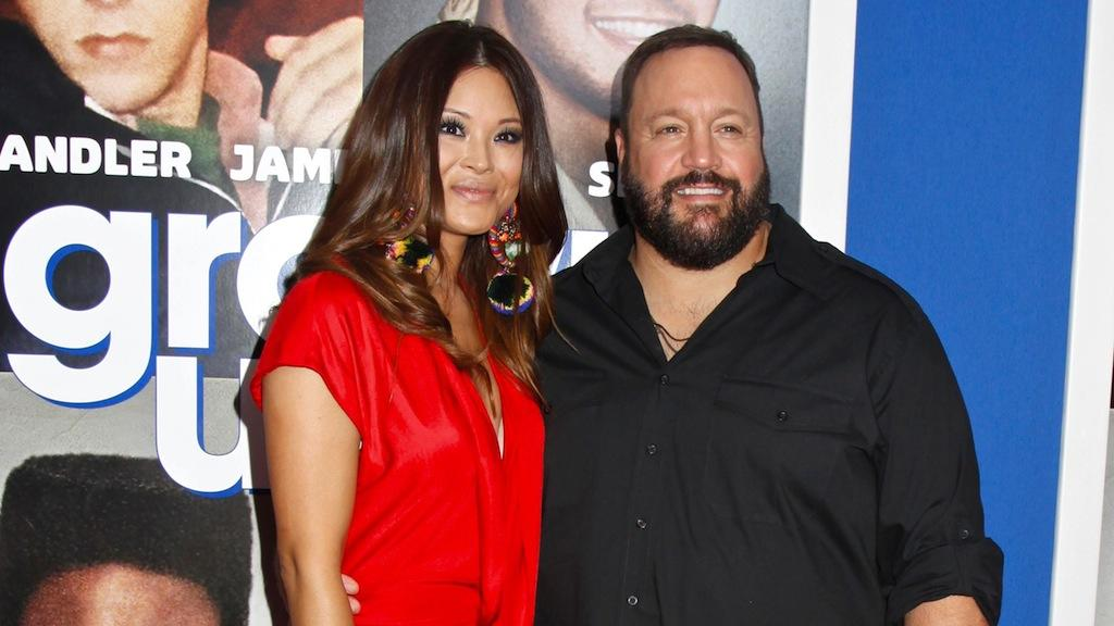 Steffiana de la Cruz und Kevin James