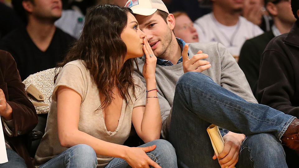 Mila Kunis und Ashtion Kutcher