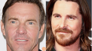 Quaid, Bale, Aniston und Co: Hollywood-Stars sehen rot