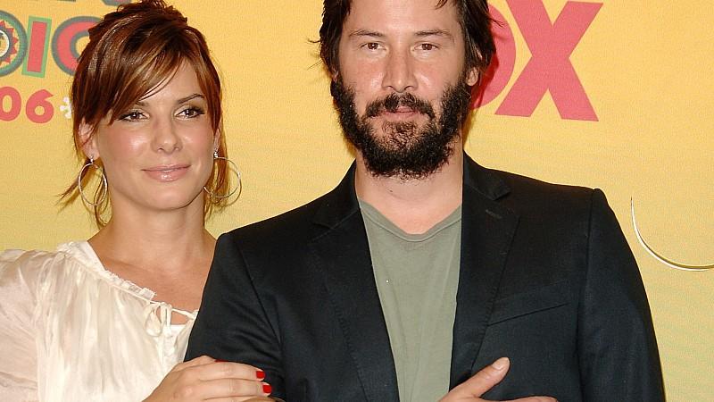 Keanu Reeves: Bullocks Ehe-Retter?