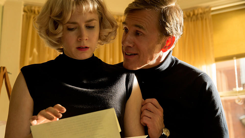Amy Adams und Christoph Waltz in 'Big Eyes'