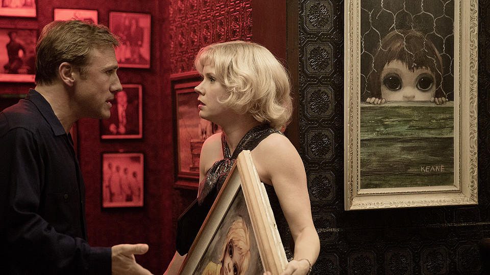 Christoph Waltz und Amy Adams in 'Big Eyes'
