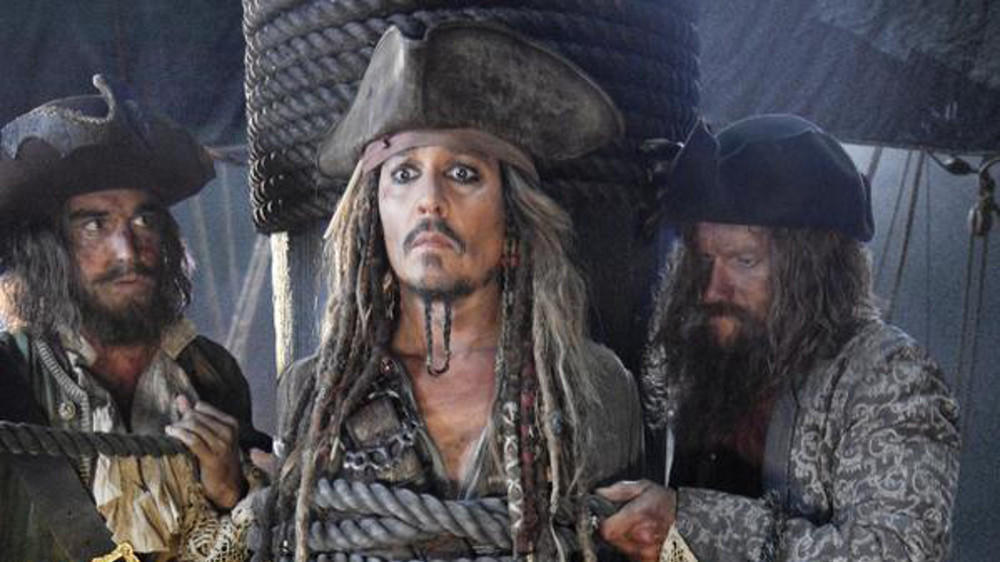Foto zeigt Johnny Depp als Captain Jack Sparrow