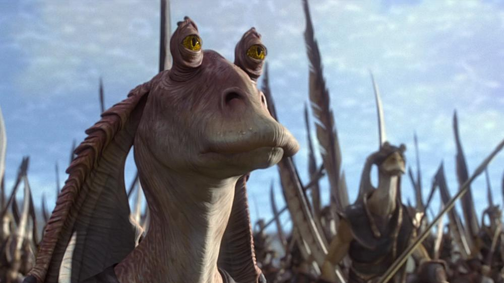 "Stirbt Jar Jar Binks im siebten ""Star Wars""-Film?"
