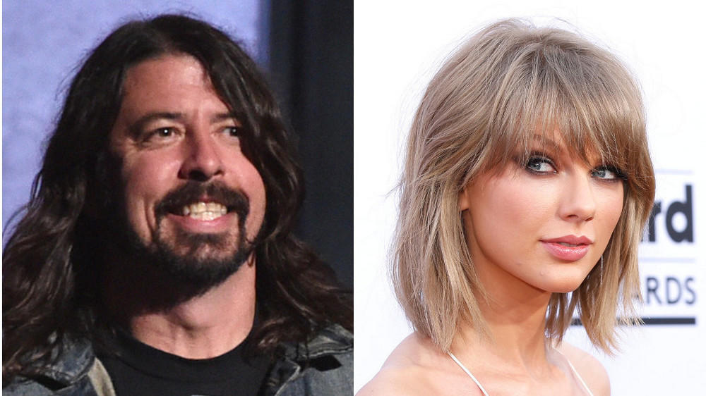 Dave Grohl steht total auf Taylor Swift