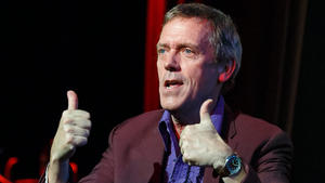 Hugh Laurie bleibt optimistisch