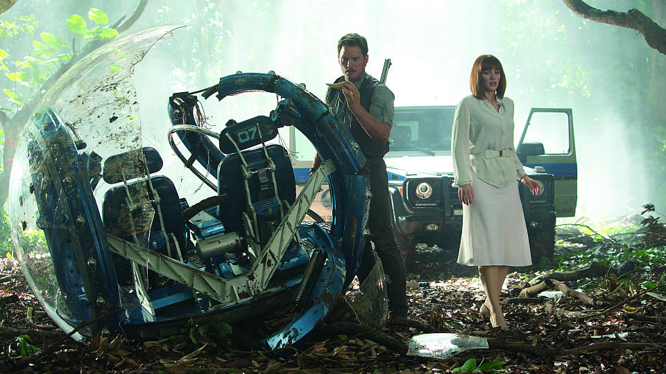 Owen Grady und Claire in Jurassic World