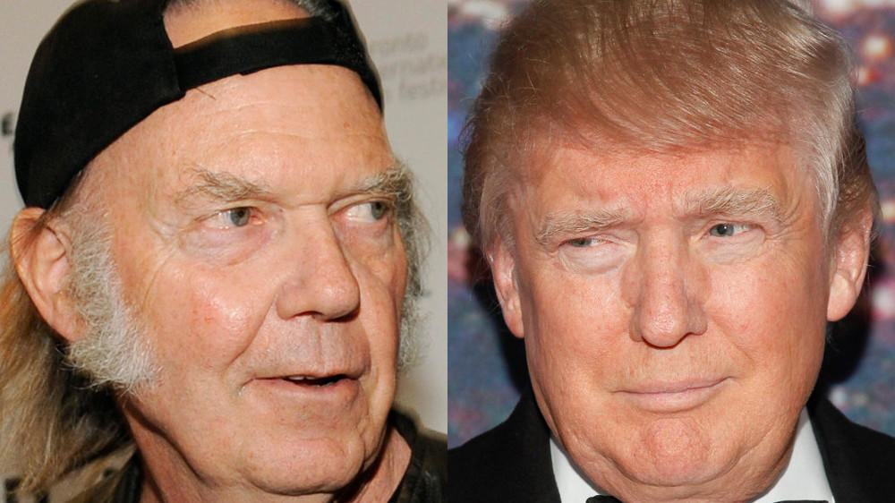 "Neil Young vs. Donald Trump: Zoff um ""Rockin' in the Free World"""